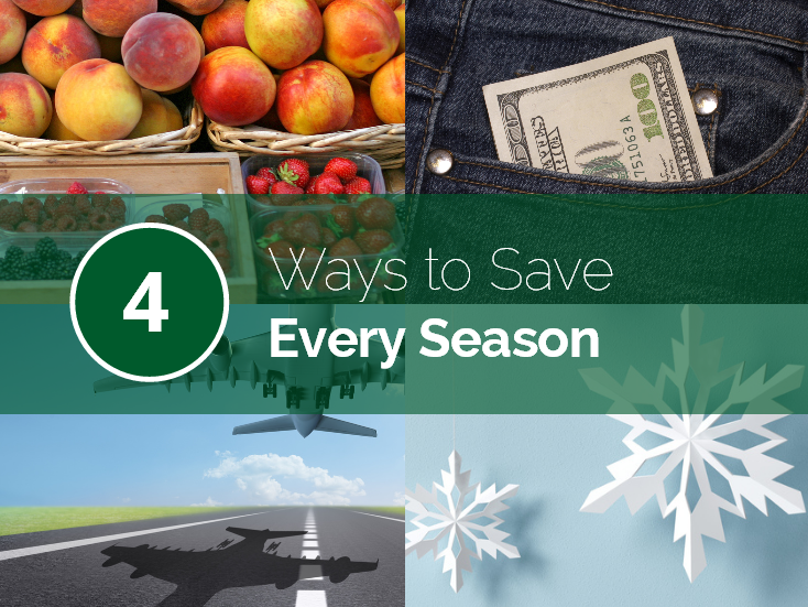 4 Ways to Save Every Season Blog Post Cover Image