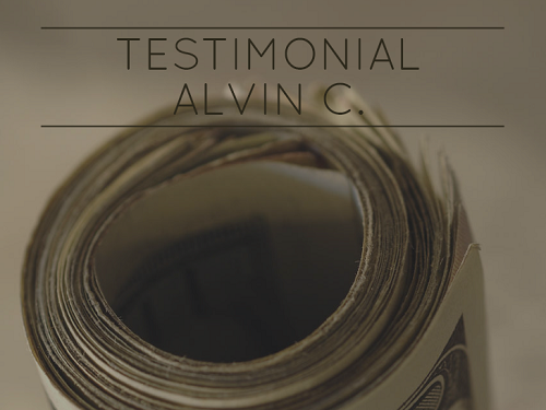 Testimonial by Alvin C image