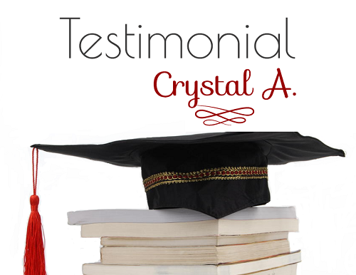Testimonial by Crystal A image